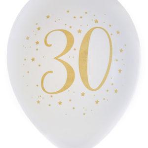Ballonger Vit 30 år