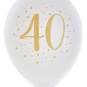Ballonger Vit 40 år