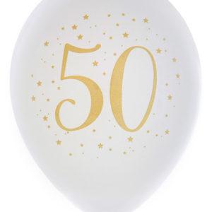 Ballonger Vit 50 år
