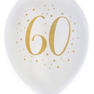 Ballonger Vit 60 år