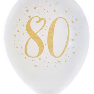 Ballonger Vit 80 år