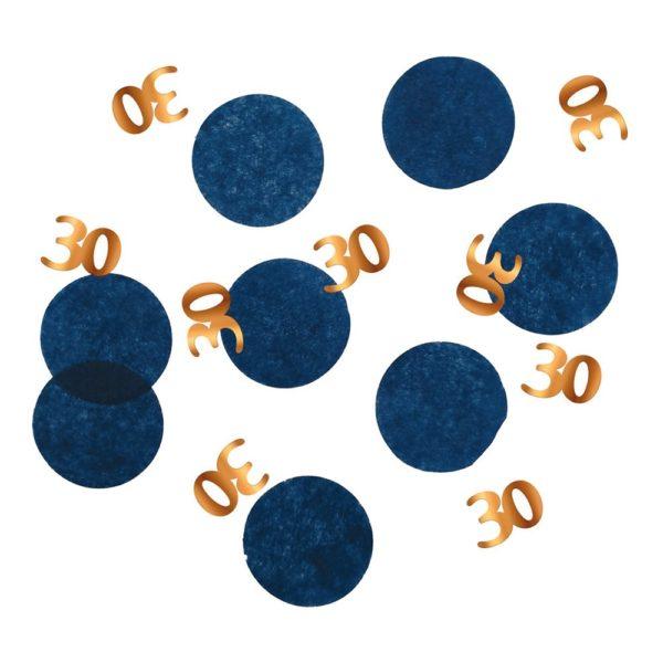 Bordskonfetti Happy 30th True Blue - 25 gram