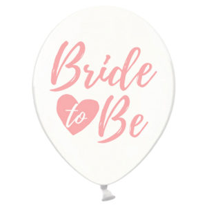 Bride To Be Latexballonger Rosa