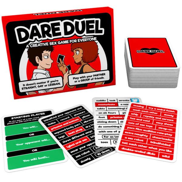 Dare Duel Kärleksspel