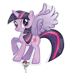 My Little Pony Liten Ballong Folie Twilight Sparkle