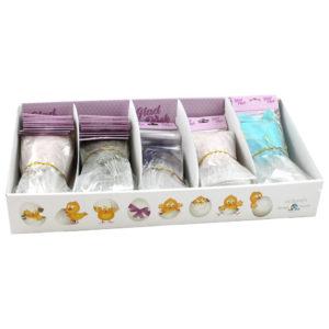 Påskfjädrar Pastell 25-pack