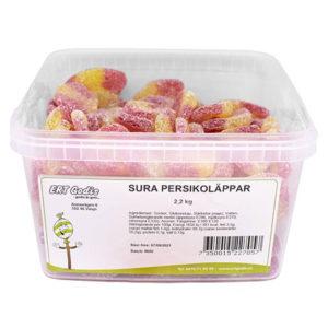 Sura Persikoläppar 2.2 kg