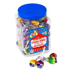 Tivoli Pops Klubbor - 40-pack