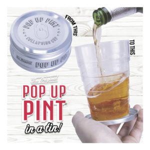 Utdragbart Ölglas - 1-pack