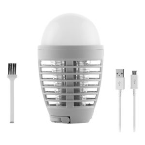 2-in-1 Mygglampa med LED