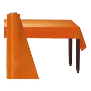 Bordsduk på Rulle Orange