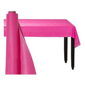 Bordsduk på Rulle Rosa