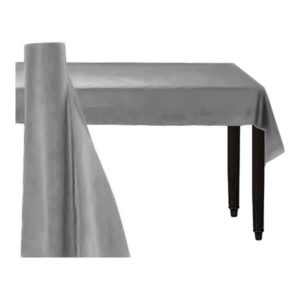 Bordsduk på Rulle Silver