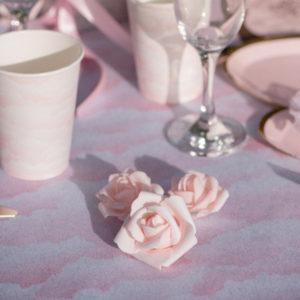 Dekoration Rosa Rosor 9-pack