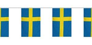 Flaggspel Svenska Flaggan 5 meter