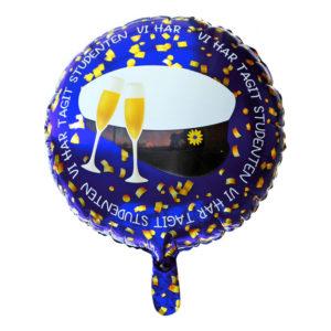 Folieballong till Studentexamen - 1-pack