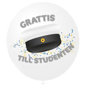 Grattis Till Studenten Folieballong