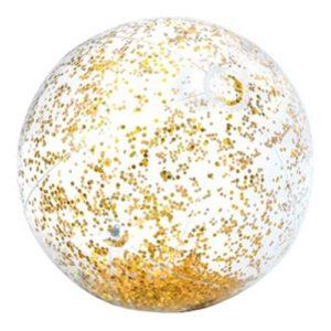 Intex Uppblåsbar Badboll - Guld