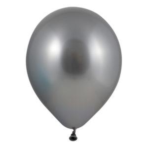 Latexballonger Silver Mini - 100-pack
