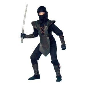 Ninja Master Jumpsuit Barn Maskeraddräkt - Large