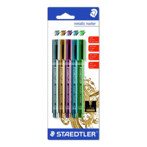Staedtler Märkpennor Metallic - 5-pack