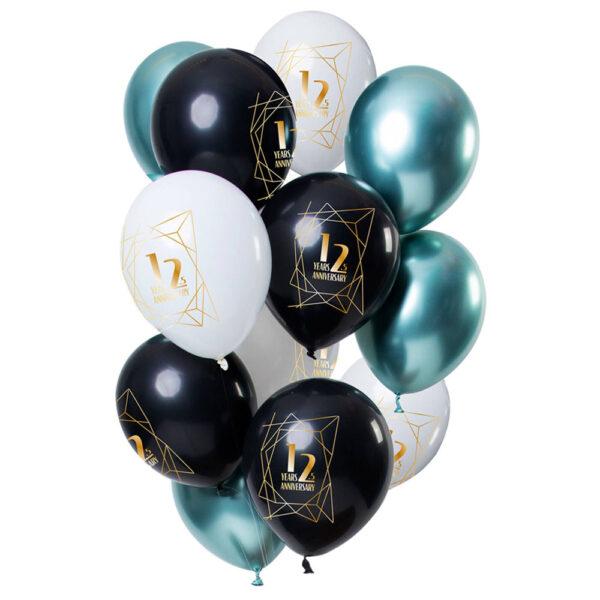 12,5 Year Anniversary Ballonger Luxury Emerald