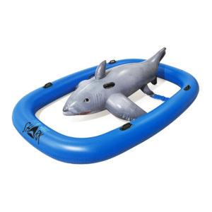 Bestway Shark Rider Uppblåsbar Vattenleksak
