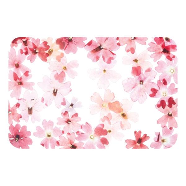 Bordstablett Blommor Röda - 1-pack