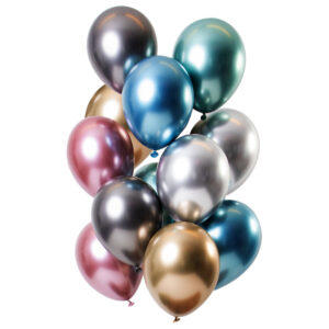 Chrome Mirror Ballonger Treasures Mix