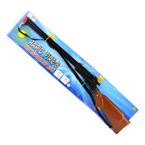 Knallpulversgevär Rapid Fire 8-skotts - 66cm