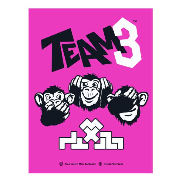 TEAM 3 Spel - Rosa