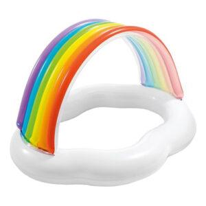 Uppblåsbar Barnpool Cloud Rainbow