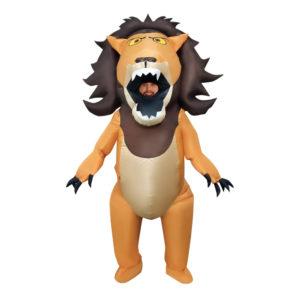 Uppblåsbart Lejon Maskeraddräkt - One size