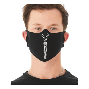 Zip-Up Ansiktsmask - One size