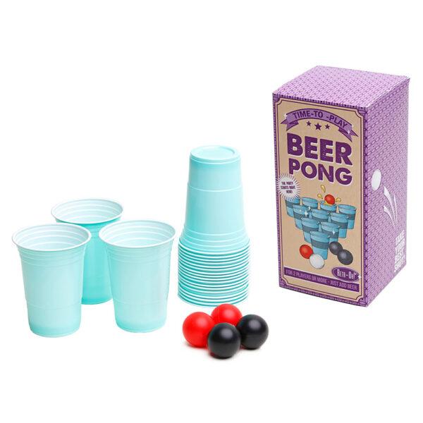 Beer Pong Spel Set