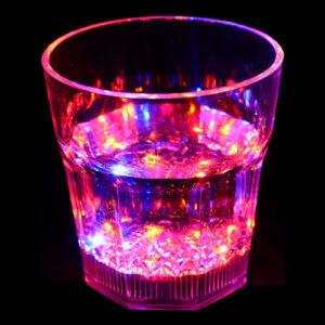 Blinkande Whiskyglas