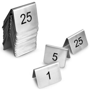 Bordsnumrering Skyltar Set
