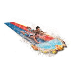 Dubbel Vattenrutschbana