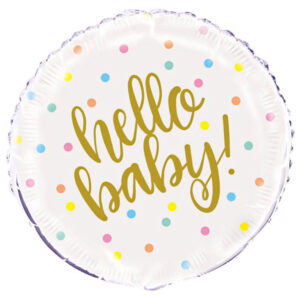 Hello Baby Ballong Folie