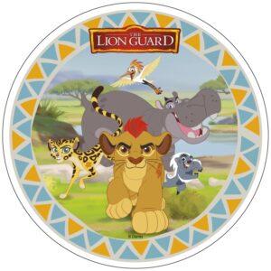 Lejonkungen, tårtbild