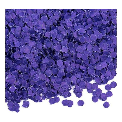 Papperskonfetti Lila - 100 gram