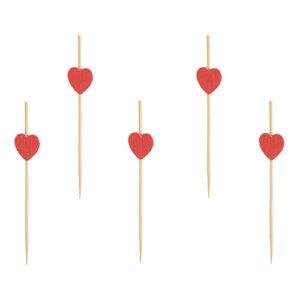 Pinnar för Plockmat med Hjärtan - 40-pack