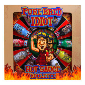 Pure Bred Idiot Hot Sauce Roulette