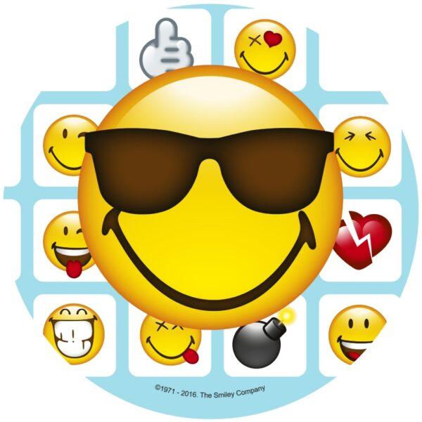 Smiley Tårtbild