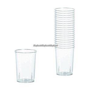 Transparenta shotglas i plast 42 ml - 20 st