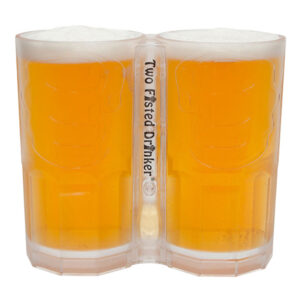 Two Fisted Drinker Ölglas