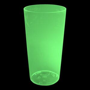 UV Neon Drinkglas - Grön