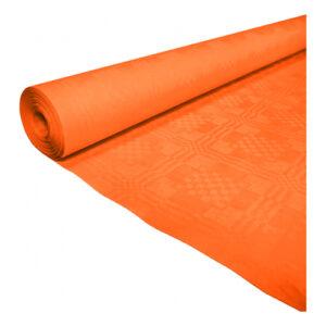 Bordsduk i Papp Orange - 119cmx8m