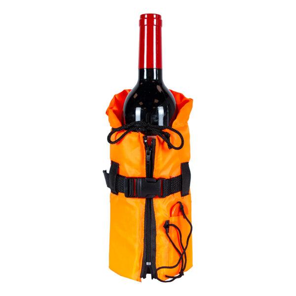 Flytväst för Vinflaska