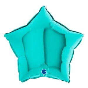 Folieballong Stjärna Tiffany - 1-pack